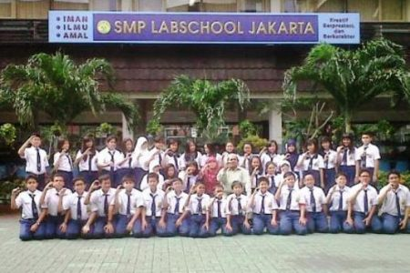 Labschool Kebayoran Junior High School in South Jakarta